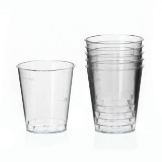 30 verres à shot en plastique 2 cl