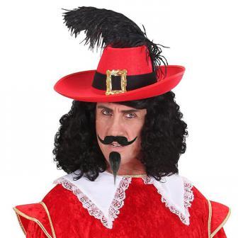 """Moustache et bouc """"Mousquetaire"""" 2 pcs."""