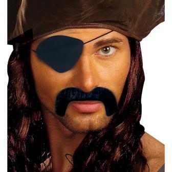 """Moustache et cache-oeil """"Pirate"""" 2 pcs."""