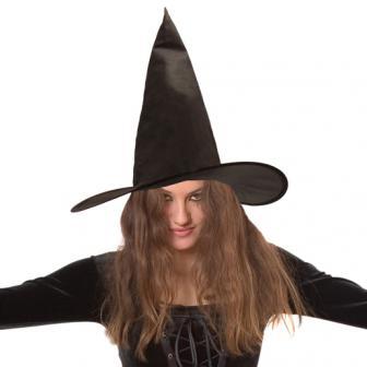 """Chapeau noir """"Sorcière"""""""