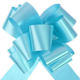 10 noeuds à tirer 5 cm - turquoise