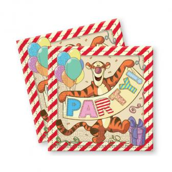 """20 serviettes en papier """"Adorable Winnie l'ourson"""""""