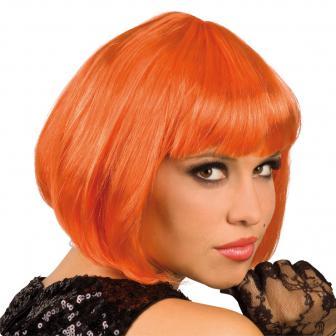 Perruque Sexy Bob - orange