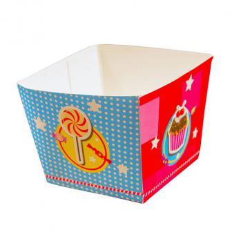 """4 coupelles en carton """"Candy"""""""