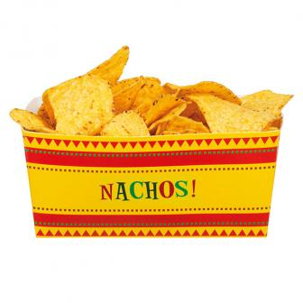 "4 Récipients pour snacks ""Happy Fiesta"""