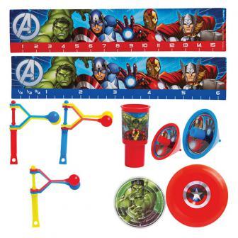 """Kit d'accessoires """"Avengers"""" 48 pcs."""