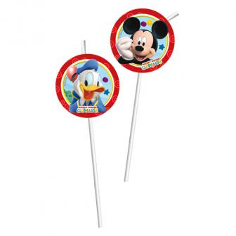 """6 pailles Disney """"Mickey Mouse"""""""