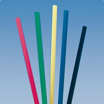 135 pailles géantes multicolores