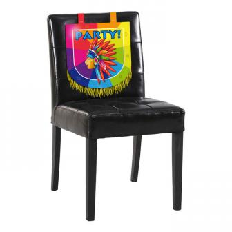 """Déco de chaise """"Indien"""" 32 cm"""