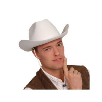 """Chapeau de cowboy blanc """"Bonanza style"""""""