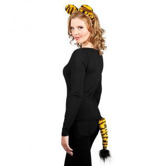 Set Tigre - serre-tête et queue - 2 pièces