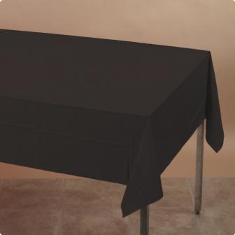 Nappe 137 x 274 cm - noir