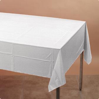 Nappe 137 x 274 cm - blanc