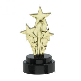 """6 décos de table """"Mini trophées Awards Night"""""""