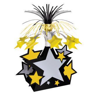"""Déco de table fontaine """"Stars & étoiles"""" 21 cm x 33 cm"""