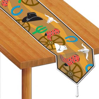 "Chemin de table ""Wild West"" 1.8 m"