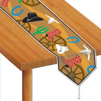 """Chemin de table """"Wild West"""" 1.8 m"""