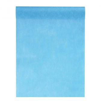 """Chemin de table unicolore non tissé """"Élégance"""" 0,3 x 10 m - turquoise"""