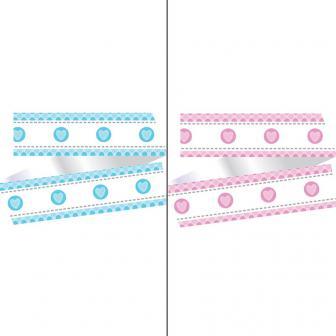 """Contour pour gâteau """"Happy Baby"""" 100 cm"""