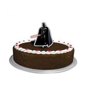 """Bougie pour gâteau """"Dark Vador"""" 10 cm"""
