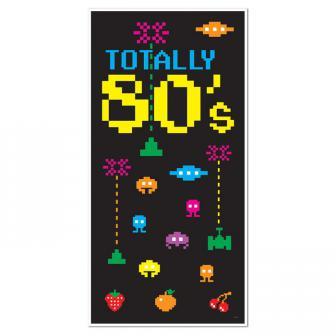 """Déco de porte """"Totally 80's"""""""