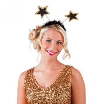 "Serre-tête étoiles ""Star glamour"""