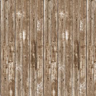 """Déco murale """"Mur de grange en bois"""" 1,2 x 9,1 m"""