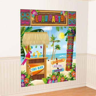 """Déco murale """"Luau Party"""" 5 pcs."""