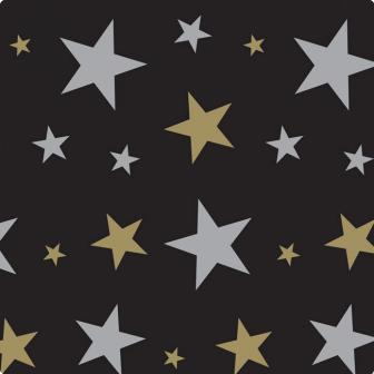 """Déco murale """"Stars & étoiles"""" 120 x 910 cm"""