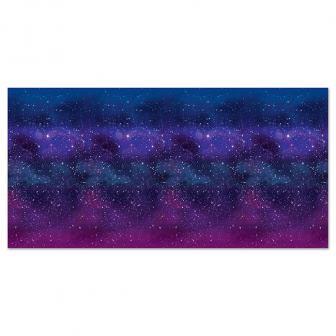 """Déco murale """"Galaxie infinie"""" 1,22 x 9,14 m"""
