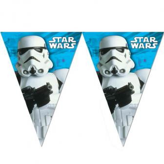 "Guirlande de fanions ""Ultimative Star Wars"" 2,3 m"