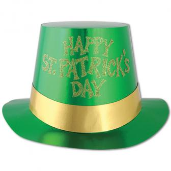 "Haut-de-forme ""Happy St. Patrick's Day"""