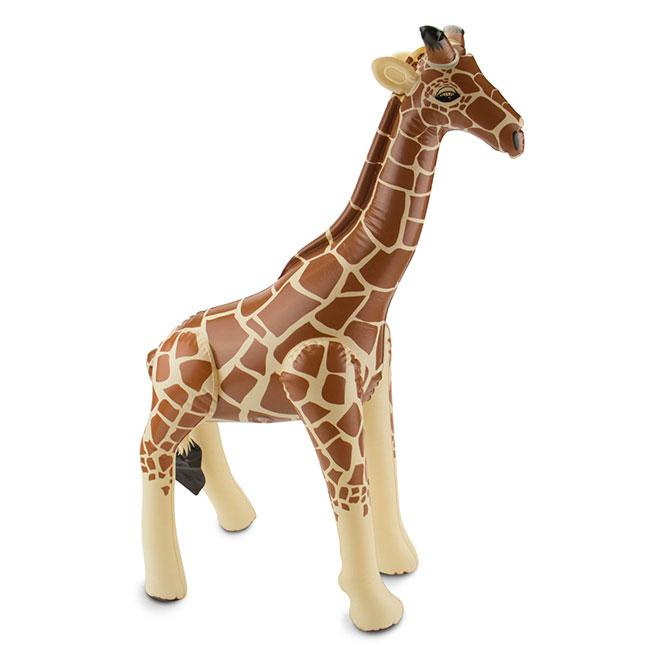 Girafe gonflable 74 cm prix minis sur for Prix d une girafe a poncer