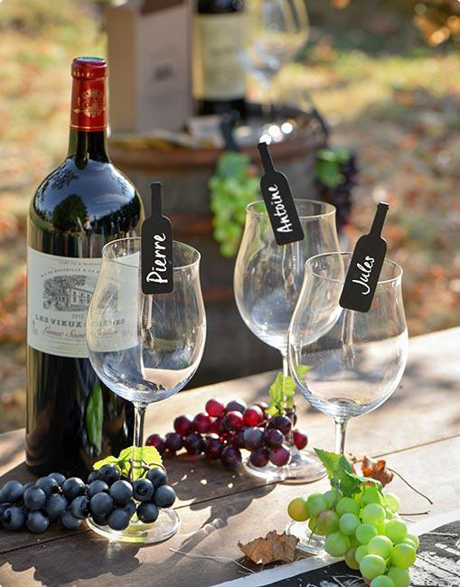 6 pince d co bouteille de vin prix minis sur. Black Bedroom Furniture Sets. Home Design Ideas