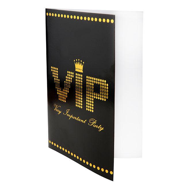 10 Cartons Dinvitation Vip Very Important Party à Prix Minis Sur