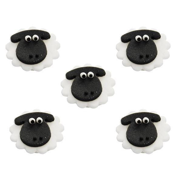 d 233 co comestible pour g 226 teau quot petits moutons quot 5 pcs 224 prix minis sur decoagogo fr