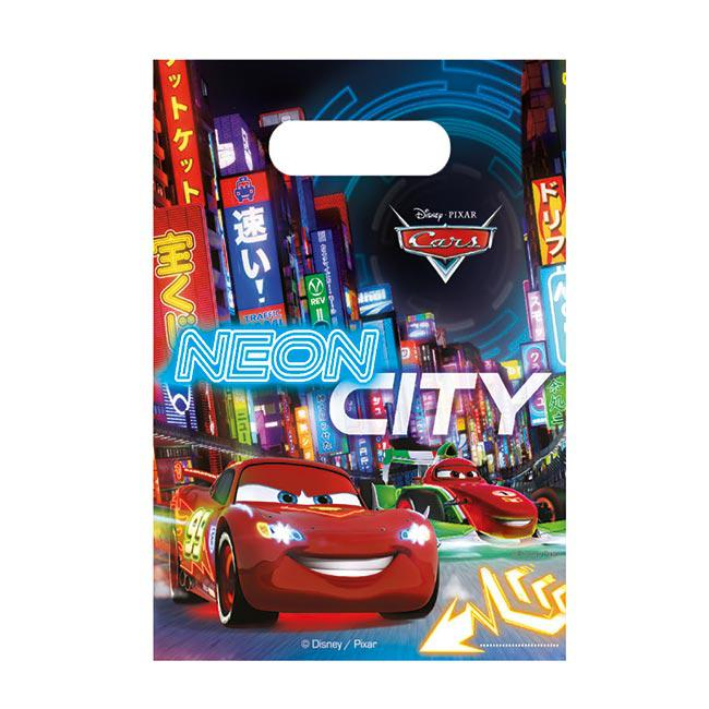 6 pochettes surprises disney cars neon city prix minis. Black Bedroom Furniture Sets. Home Design Ideas