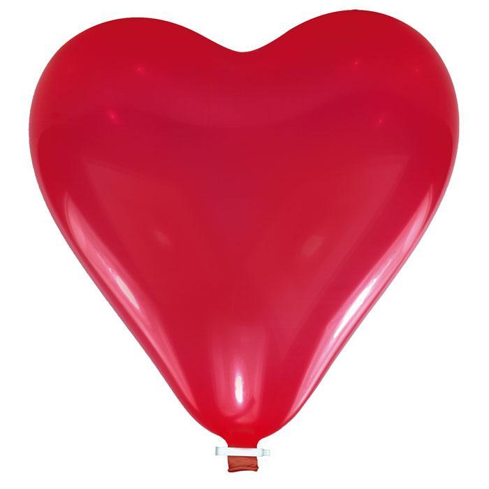 gros ballon en forme de c ur rouge 60 cm prix minis sur. Black Bedroom Furniture Sets. Home Design Ideas