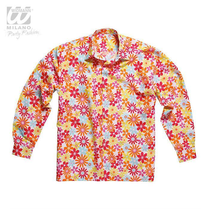 Shirt Man Power Flower Ofzow Hippie Disfraz 6vfYgyb7