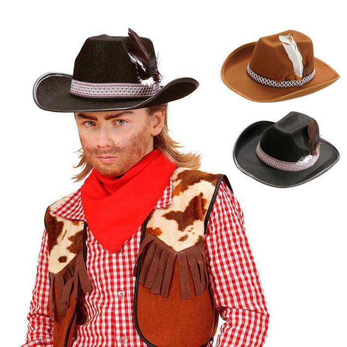 Widmann/Chapeau de cowboy marron