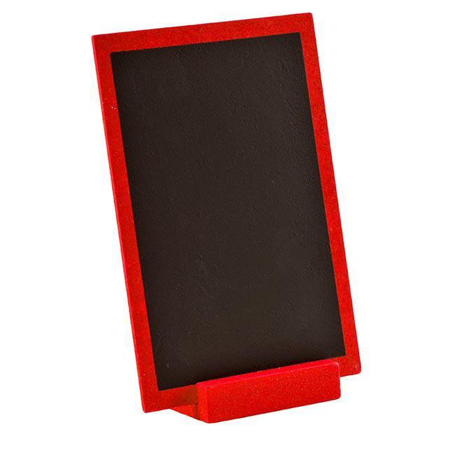 Ardoise en bois personnalisable avec pr sentoir 15 x 10 cm for Prix poisson rouge 15 cm