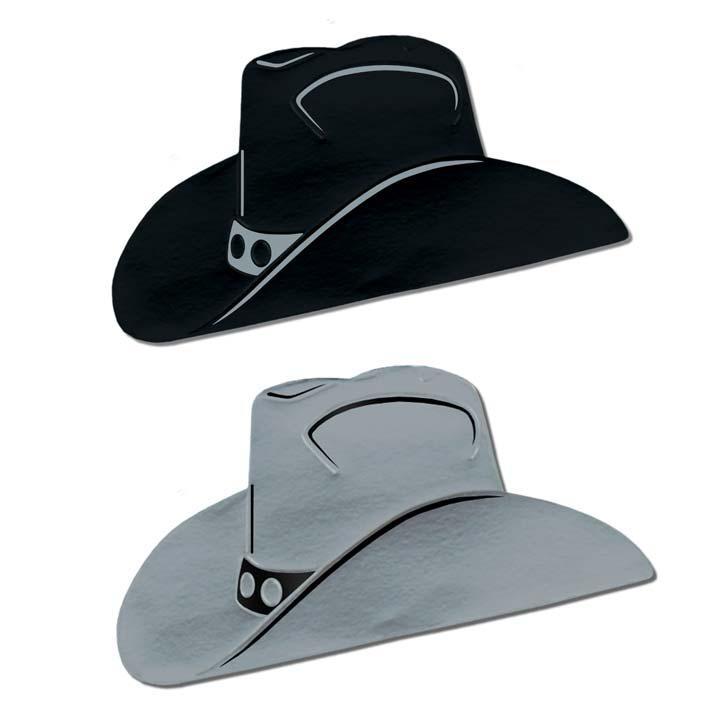d co de salle chapeau de cowboy wild west 24 5 cm x 48. Black Bedroom Furniture Sets. Home Design Ideas