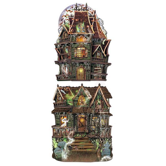 D co de salle maison hant e 2 pcs prix minis sur for Decoration maison hantee