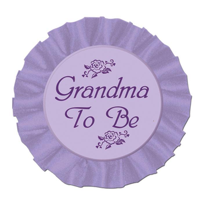 rosette future grand m re grandma to be prix minis sur. Black Bedroom Furniture Sets. Home Design Ideas