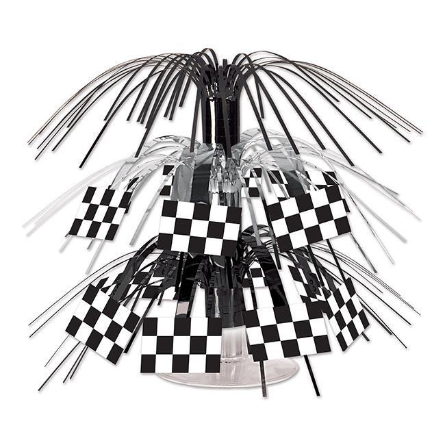 d co de table drapeau damiers 19 cm prix minis sur. Black Bedroom Furniture Sets. Home Design Ideas
