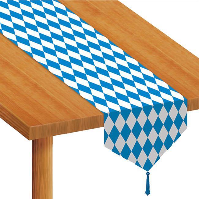Chemin de table f te de la bi re 180 cm prix minis sur for Chemin de table 180 cm