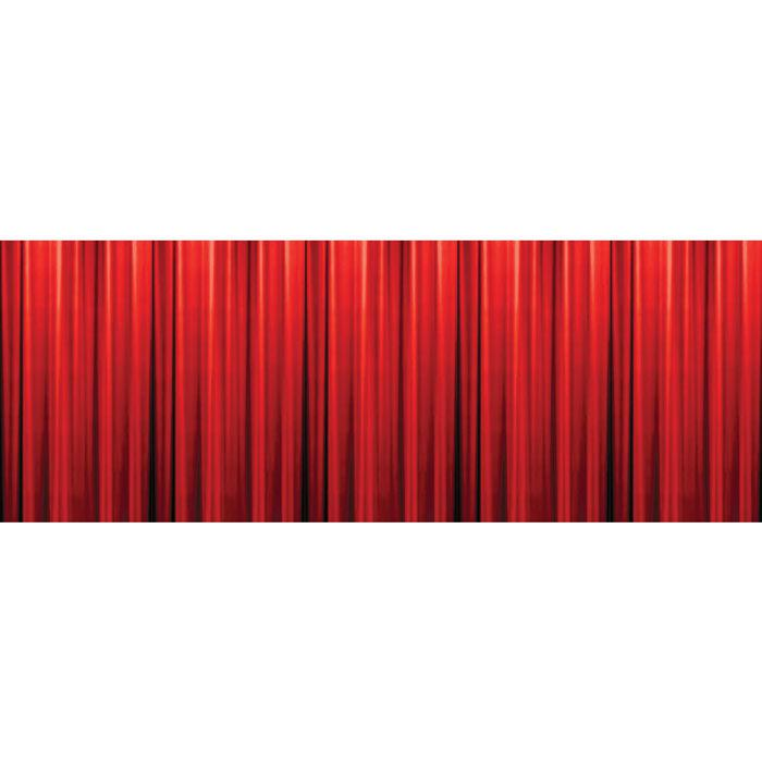 D co murale rideau rouge hollywood 305 x 125 cm prix - Deco murale en relief ...