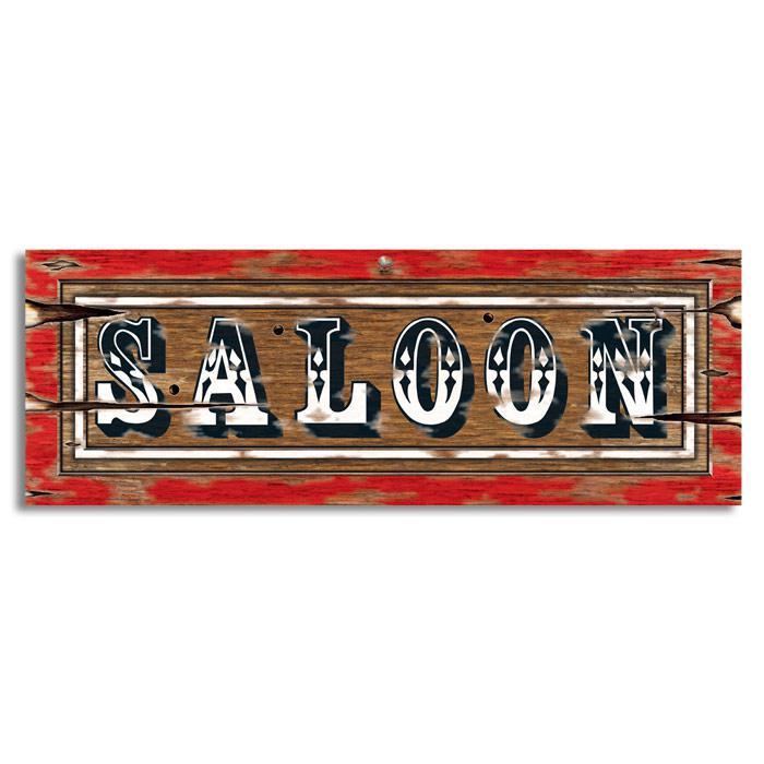 d co murale panneau de saloon far west 56 cm prix. Black Bedroom Furniture Sets. Home Design Ideas