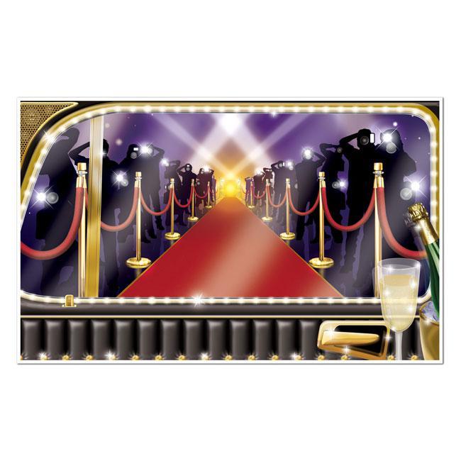 d co murale limousine vip 160 cm prix minis sur. Black Bedroom Furniture Sets. Home Design Ideas