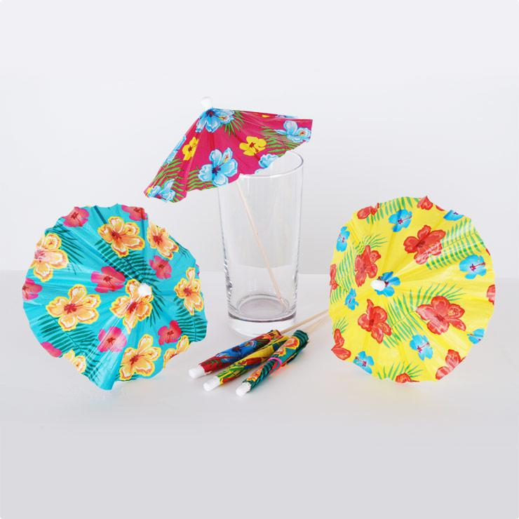 Parasols de cocktail xxl 20 cm 6 pcs prix minis sur for Cocktail xxl
